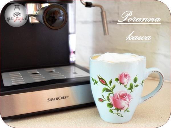 Poranna kawa z ekspresu – witamy nowy dzień